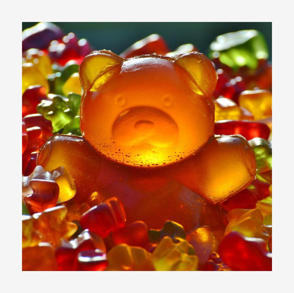 Gummibärchen vegane unterschied und vegetarische Vegetarische Gummibären